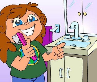 حديث عن النظافة للاذاعة المدرسية