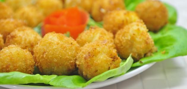 وصفة كفتة البطاطس بالجبن