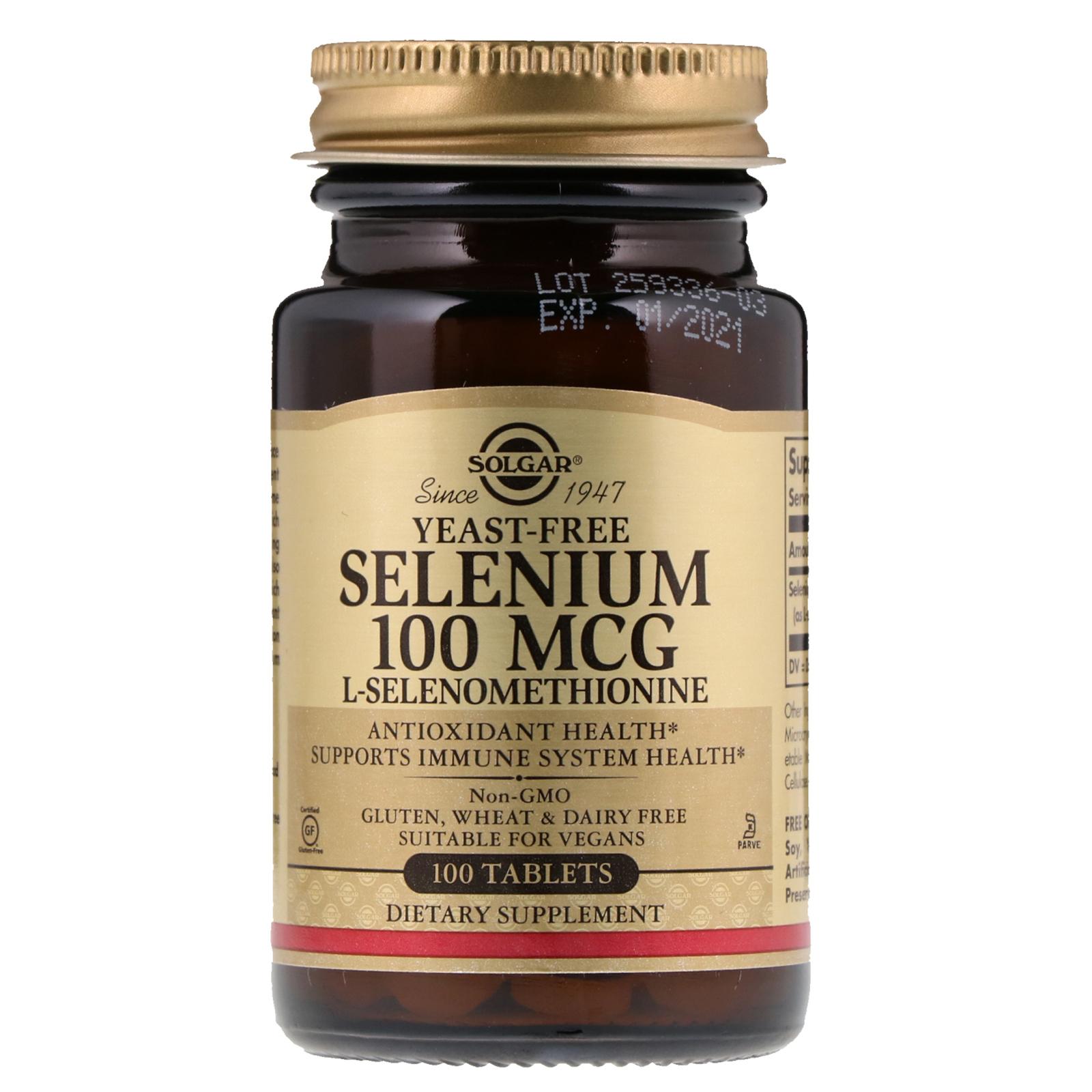 السيلينيوم للشعر الأبيض