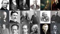 أشهر علماء الكيمياء الغرب