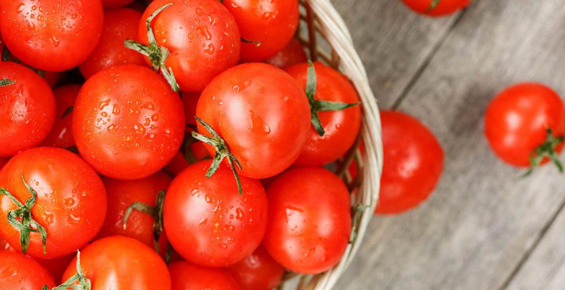 مكونات الطماطم