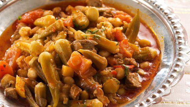 طريقة طبخ البامية السورية