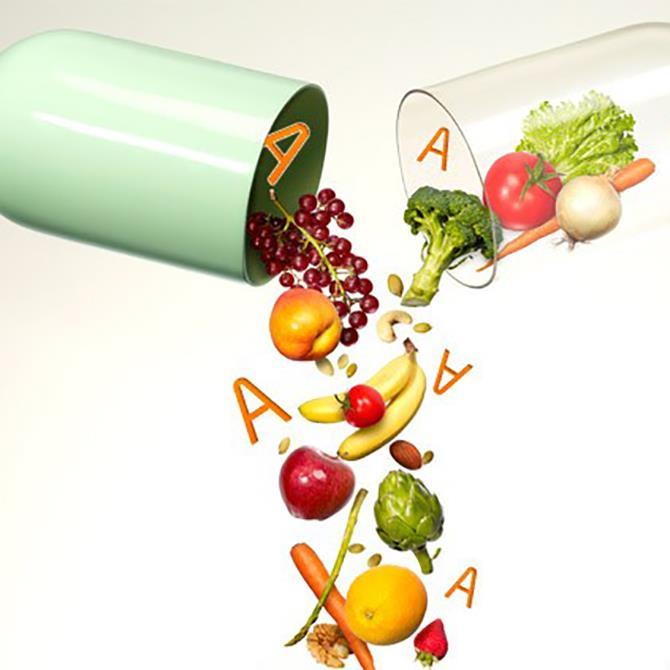 أنواع الفيتامينات وأعراض نقصها