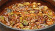 طريقة طبخ البامية باللحمة المفرومة
