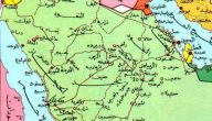 خريطة السعودية واضحة