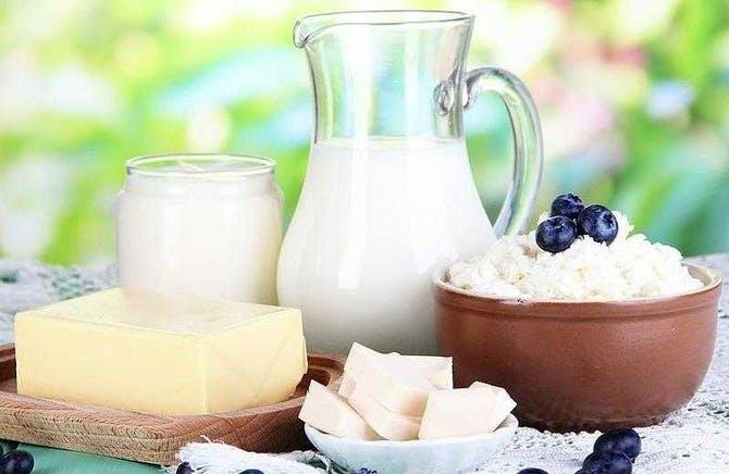 أضرار مشتقات الحليب