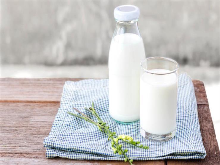 نسبة البروتين في الحليب خالي الدسم