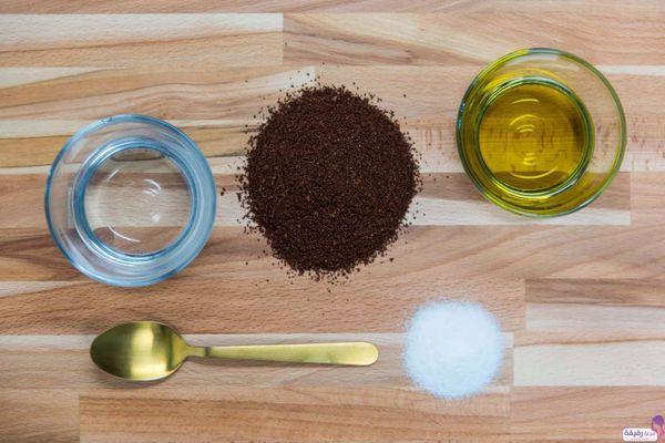 فوائد ماسك القهوة وزيت الزيتون