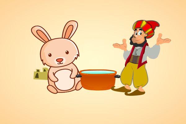 قصة جحا والارنب