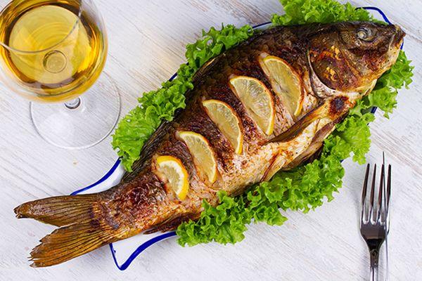 طريقة عمل سمك الهامور بالصلصة