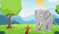 قصة النملة والفيل