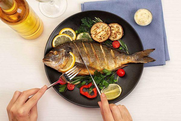 فوائد السمك للشعر