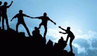 قيمة التعاون للاطفال