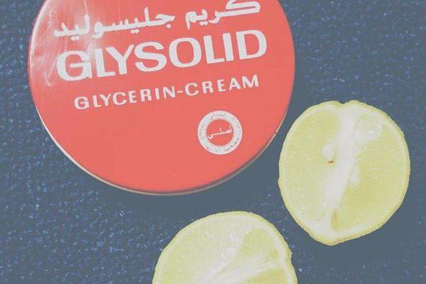 الجليسوليد والليمون يسمر