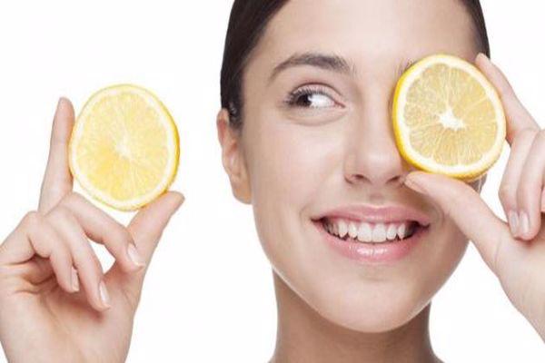 الليمون لحب الشباب الملتهب