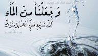حكمة عن الماء