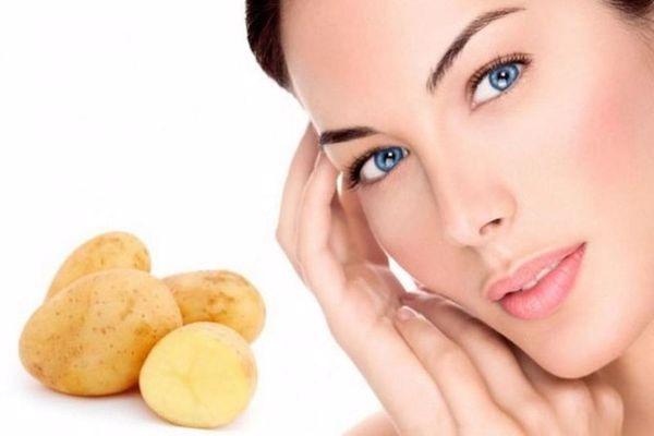 البطاطس للبشرة الحساسة